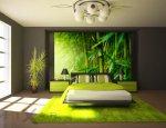 Schlafzimmer mit Doppelschmiede
